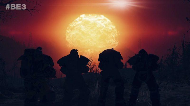 Fallout 76 nuke e3 2018