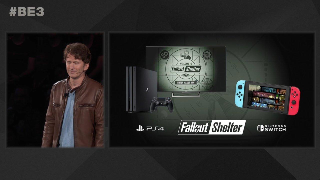 Fallout Shelter e3 2018