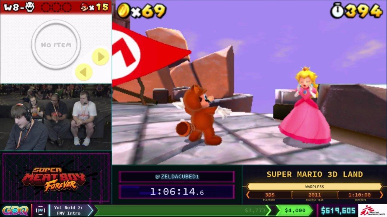 Super Mario 3D Land SGDQ 2018