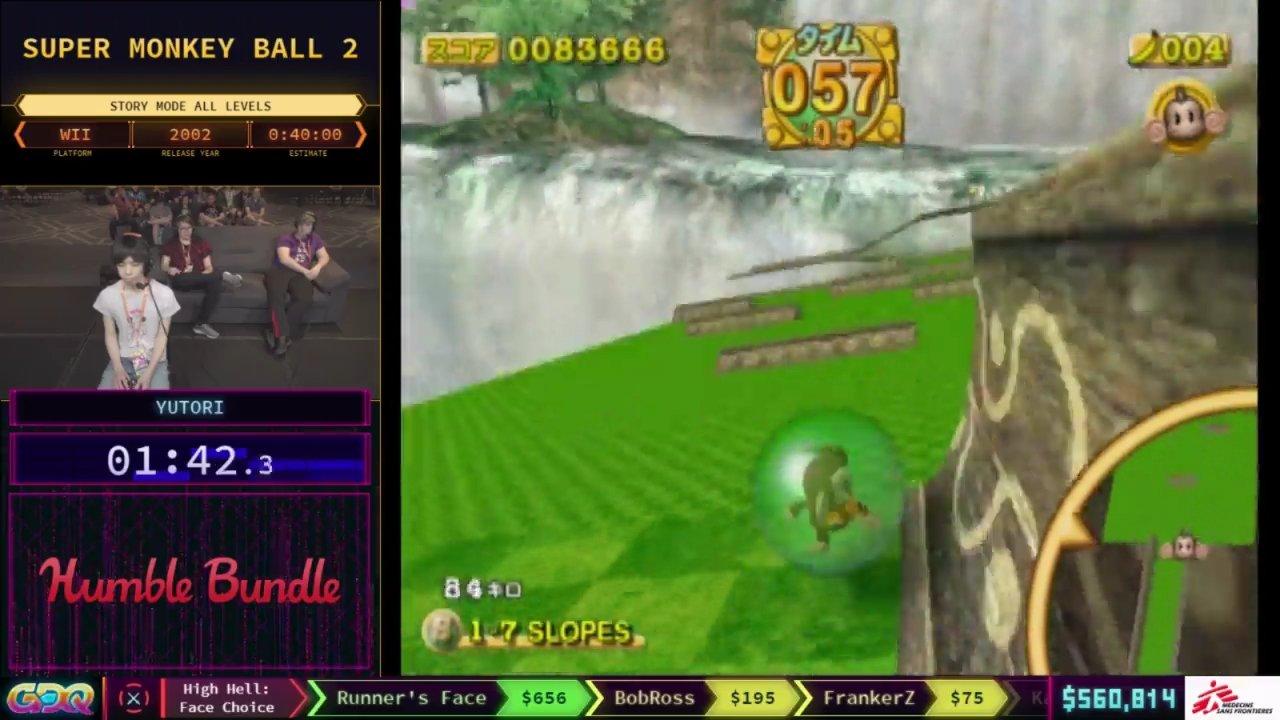 Super Monkey Ball 2 SGDQ 2018
