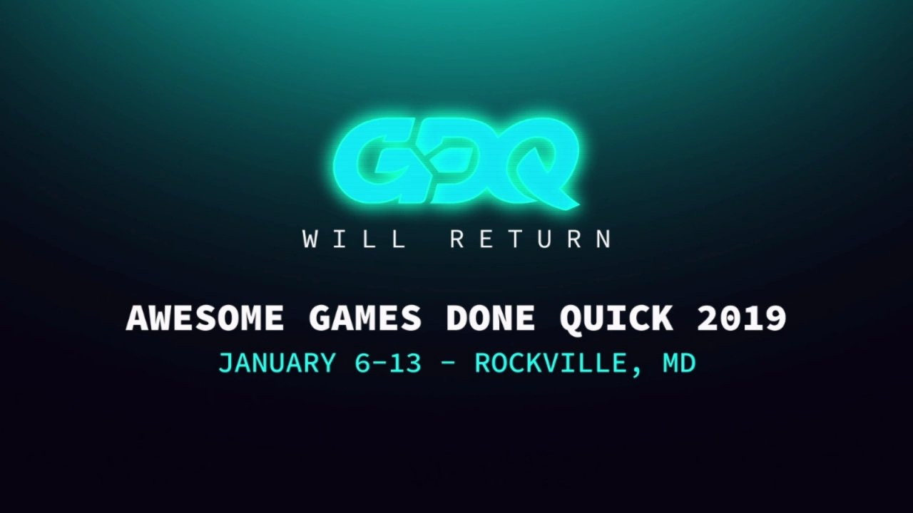 AGDQ 2019 Dates