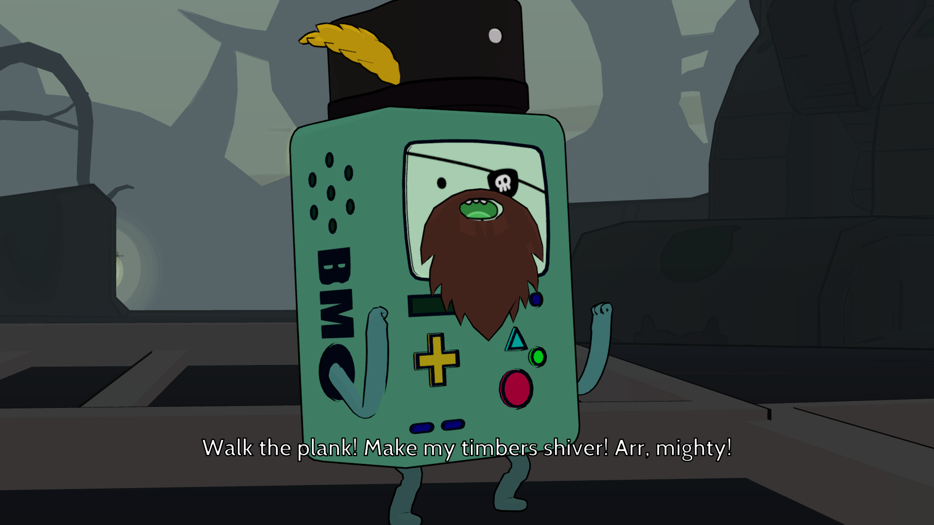 Adventure Time Pirate BMO