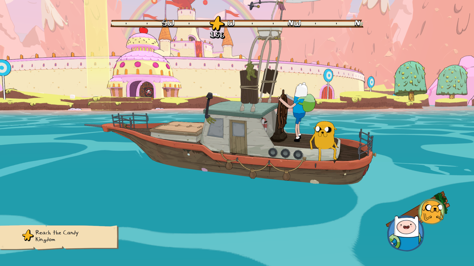 Adventure Time Sailing