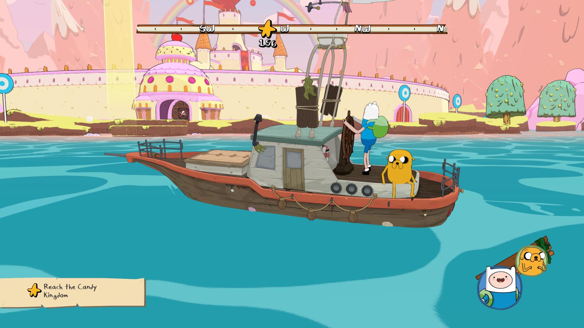 Adventure Time Sailing