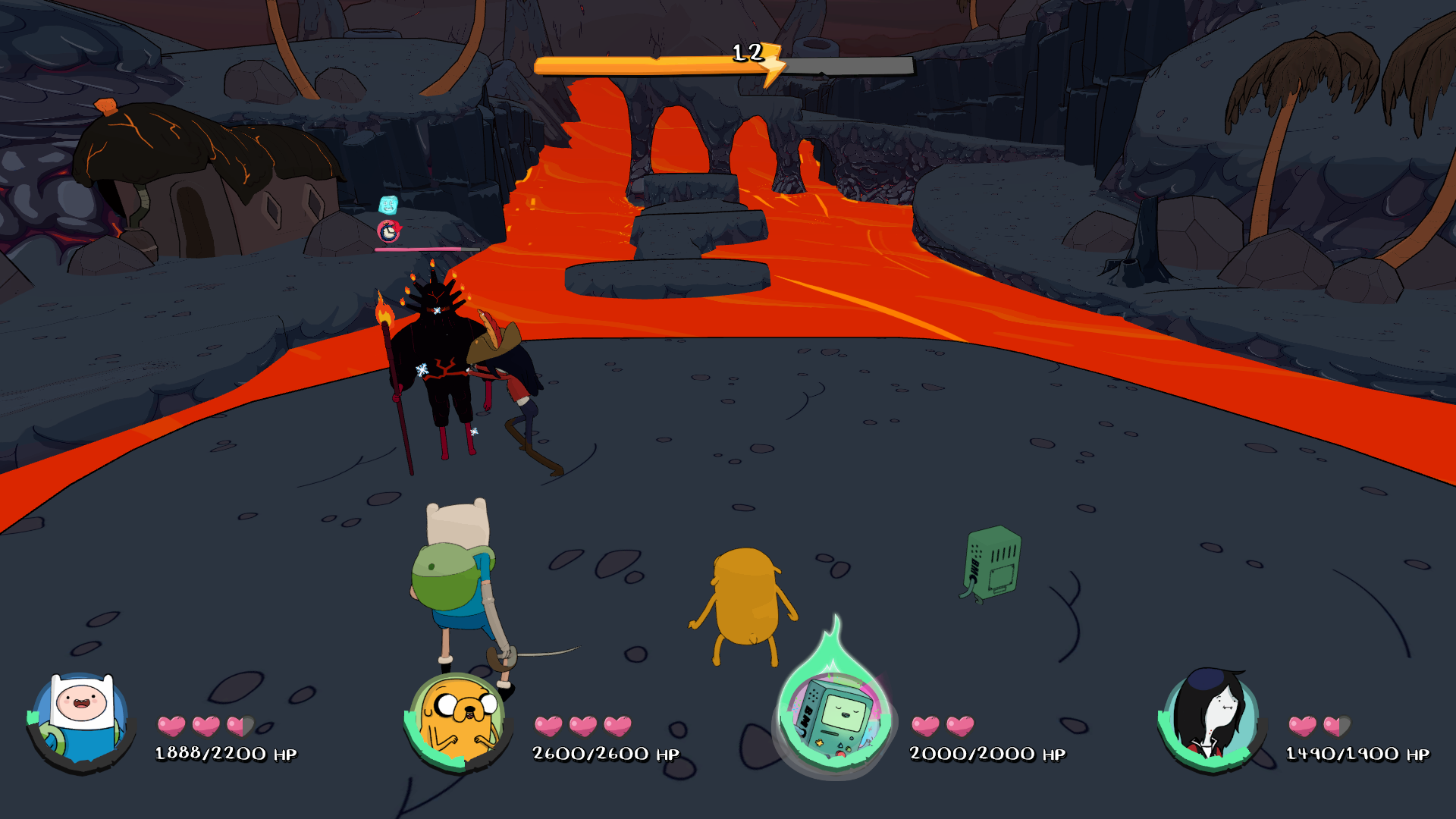 Adventure TIme battle