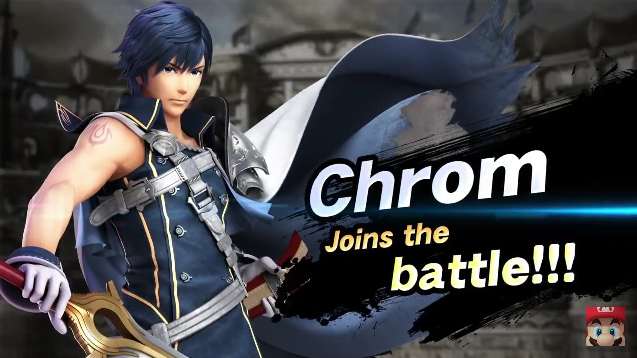 Chrom super smash