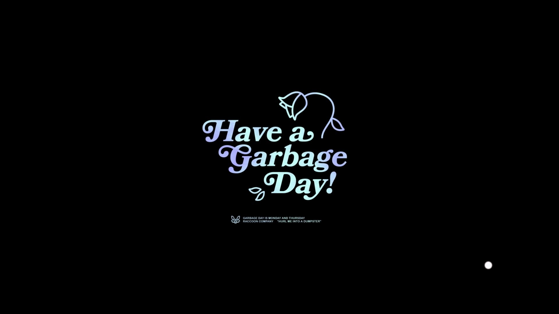 Donut County Have a Garbage Day