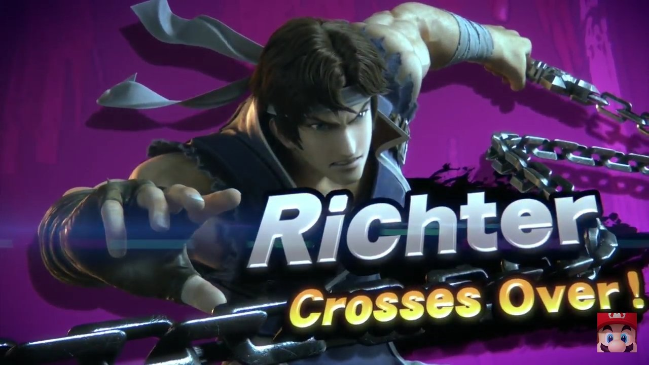 Richter super smash