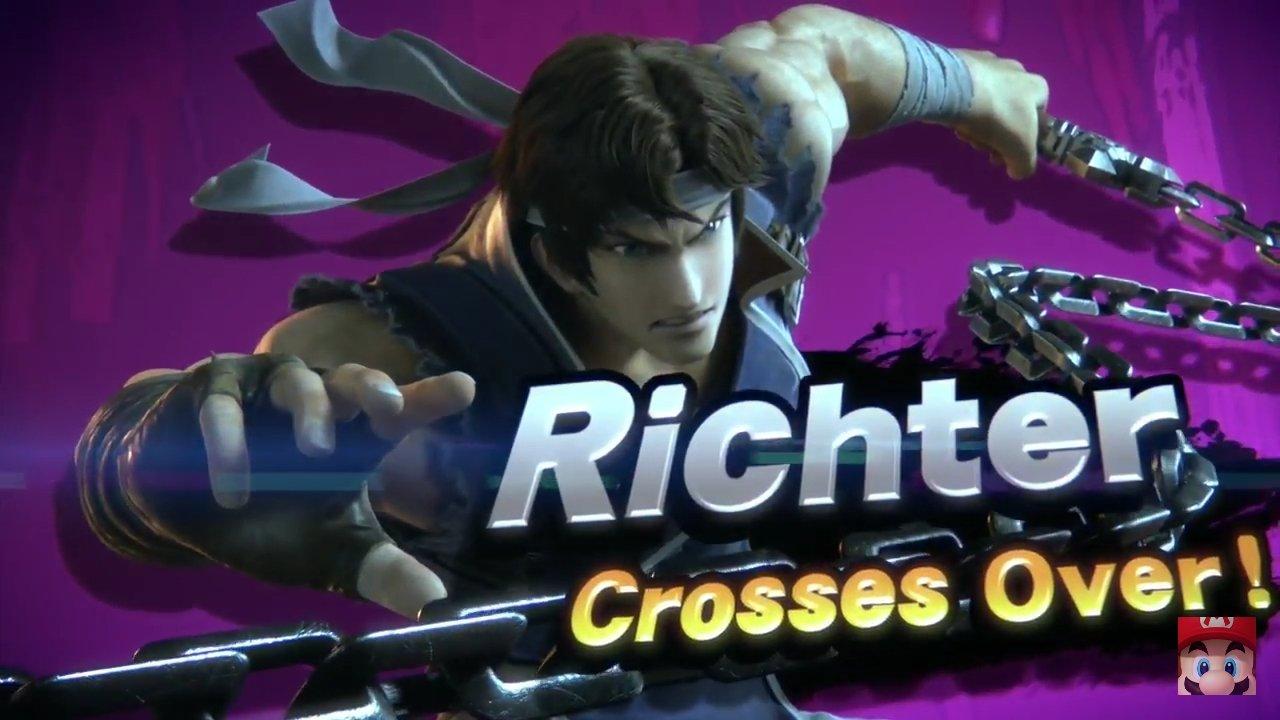 Richter super smash