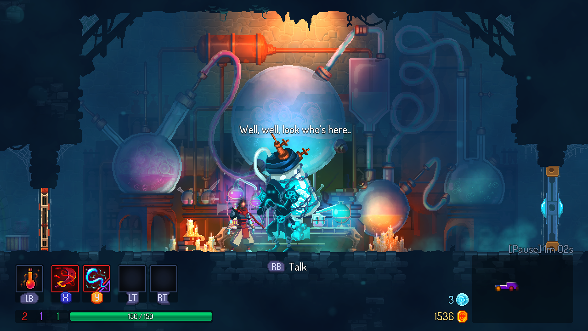 Dead Cells the Collector