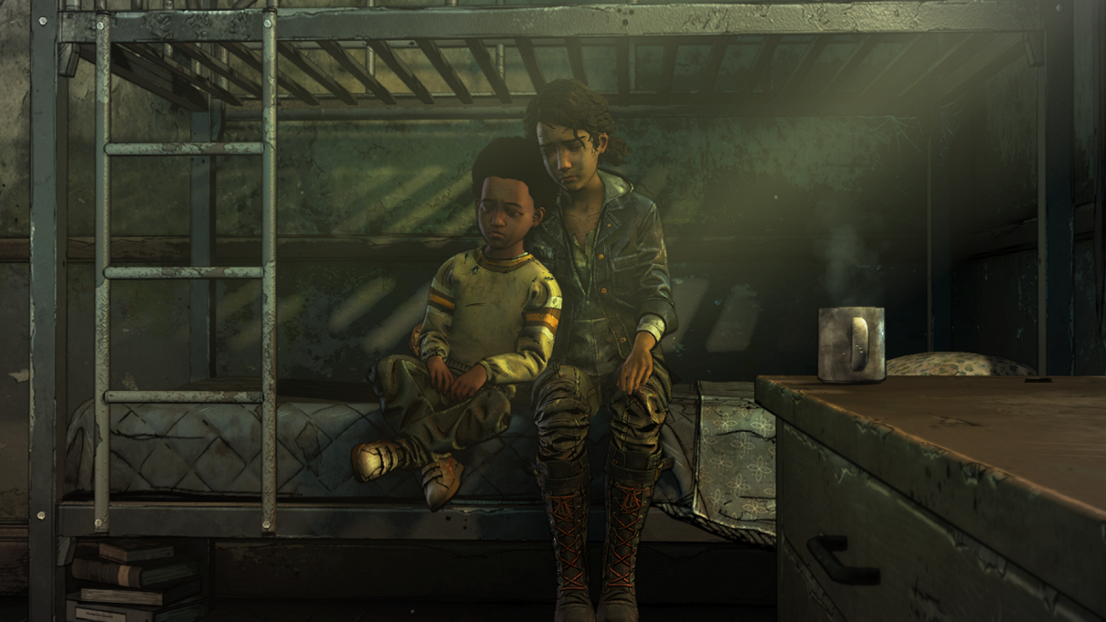 Walking Dead Episode 2 Clem and AJ