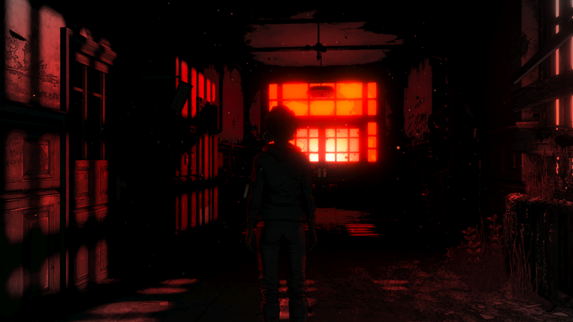 Walking Dead Episode 2 Hallway Dream