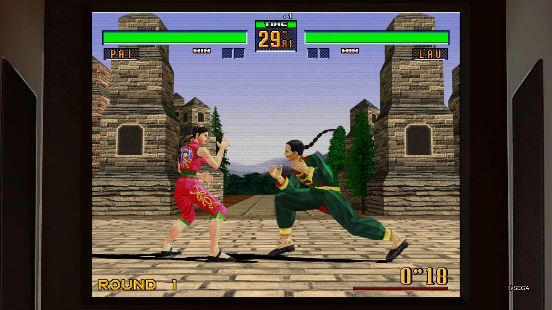 Yakuza Kiwami 2 Virtua Fighter