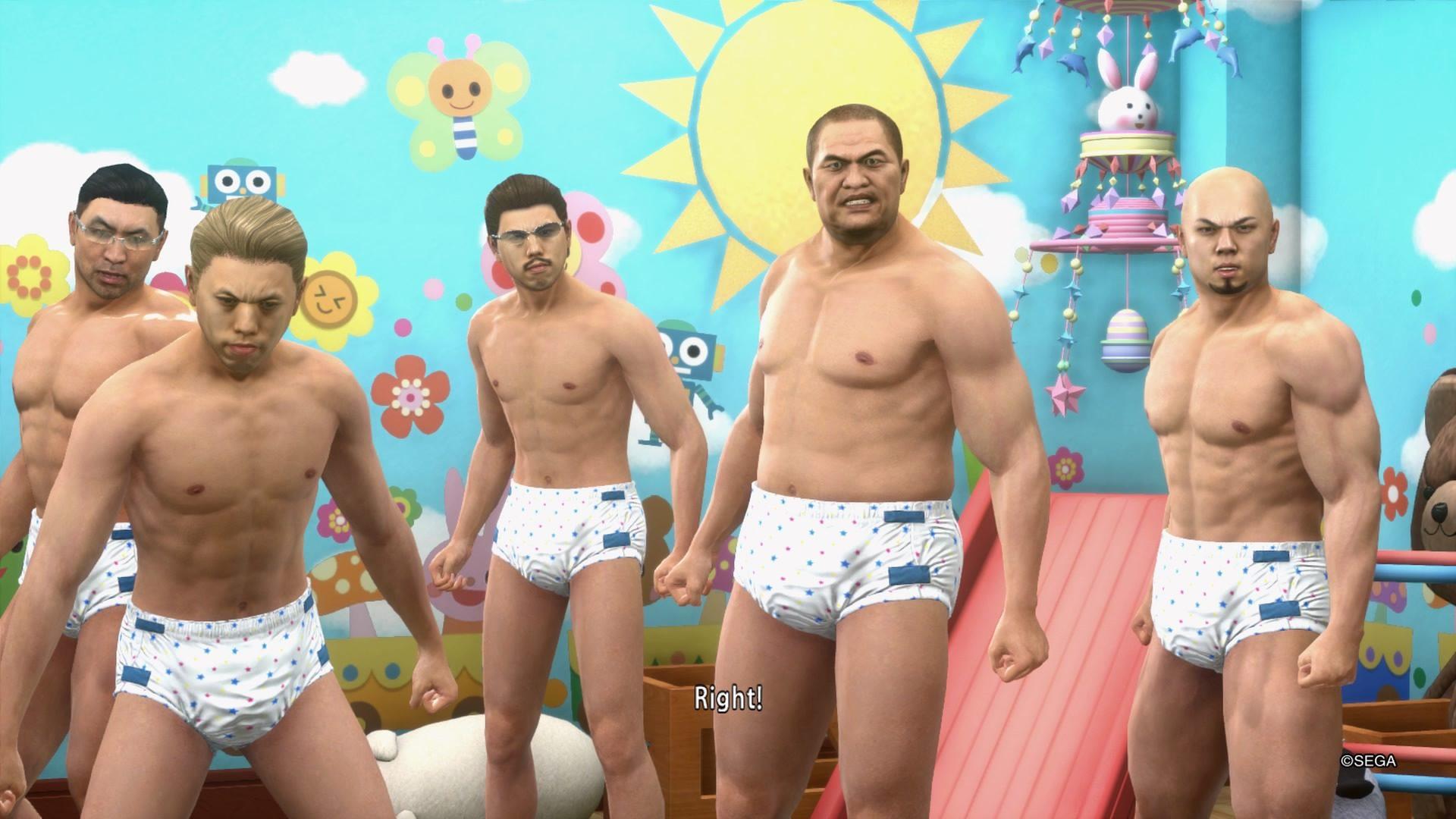 Yakuza Kiwami 2 Babies