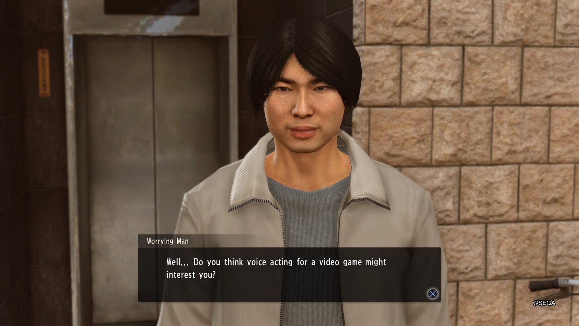 Yakuza Kiwami 2 Voice Actor