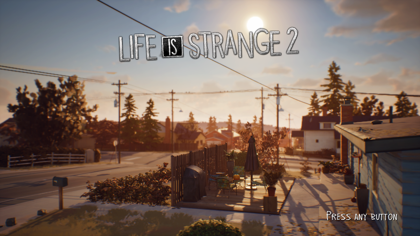 Life is STrange 2 Title