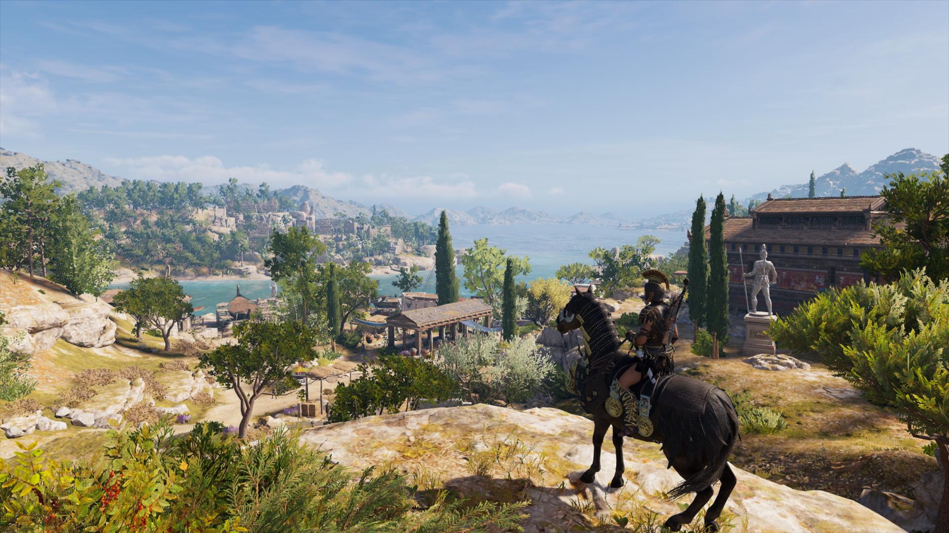 Assassin's Creed: Odyssey landscape
