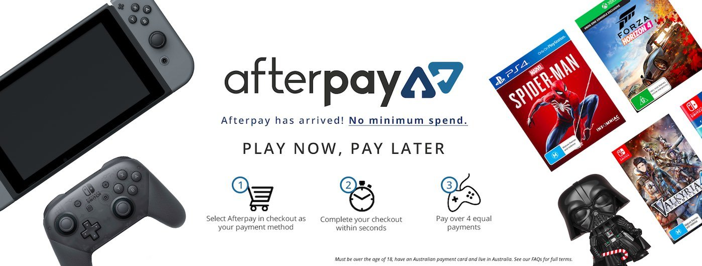 EB Games Afterpay
