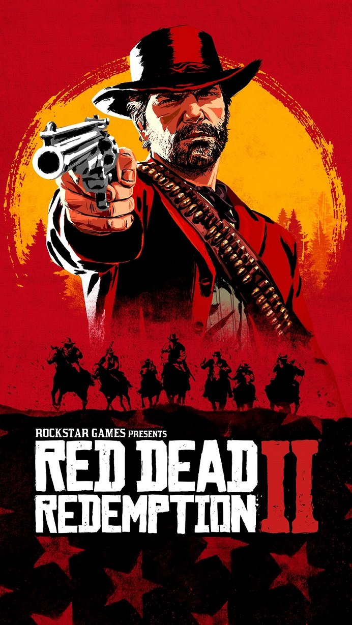 Red Dead Redemption 2 official art
