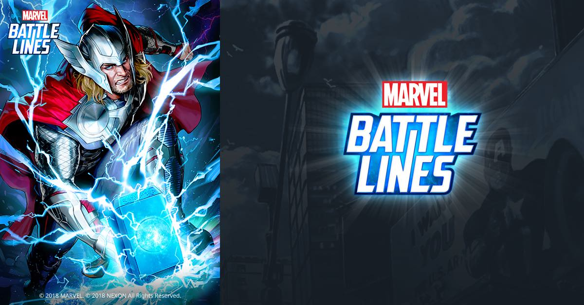 Marvel Battle Lines Thor