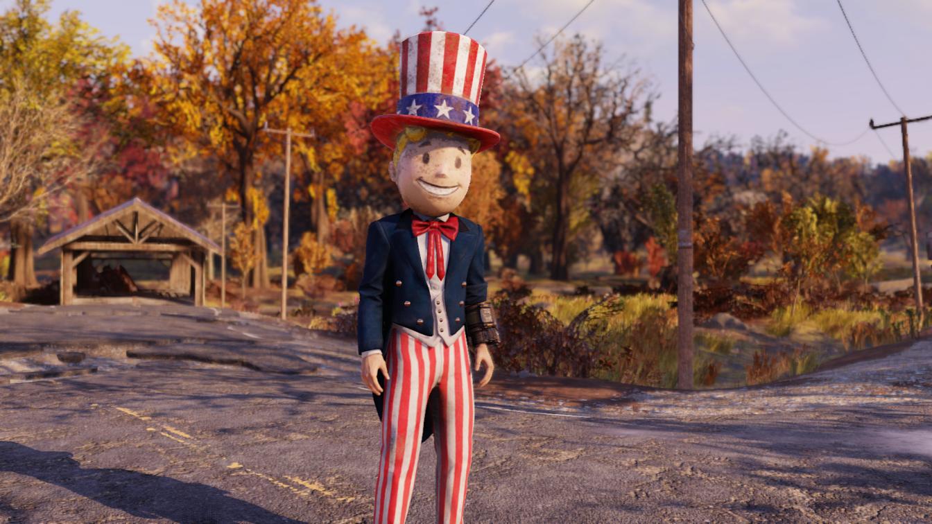 Fallout 76 Tricentennial Costume