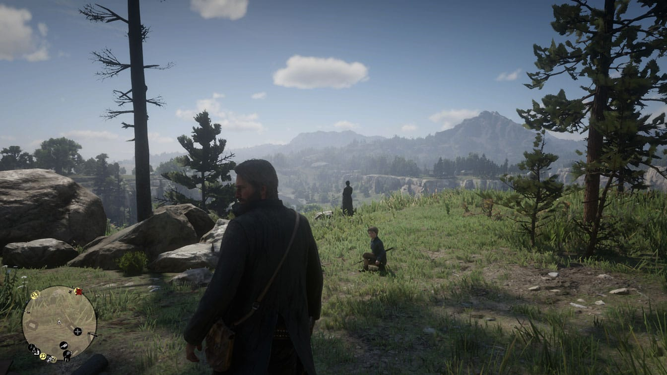 Red Dead Redemption II Camp