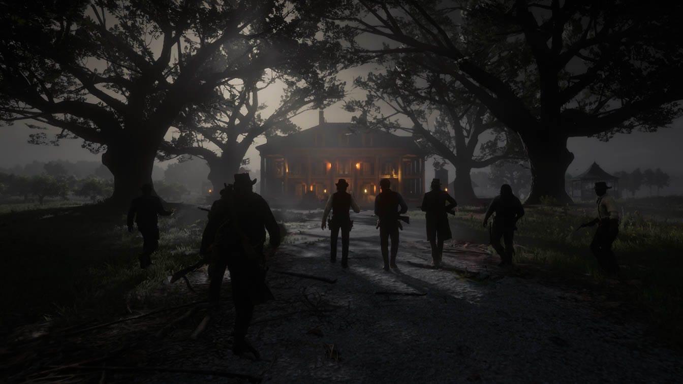 Red Dead Redemption II Raid