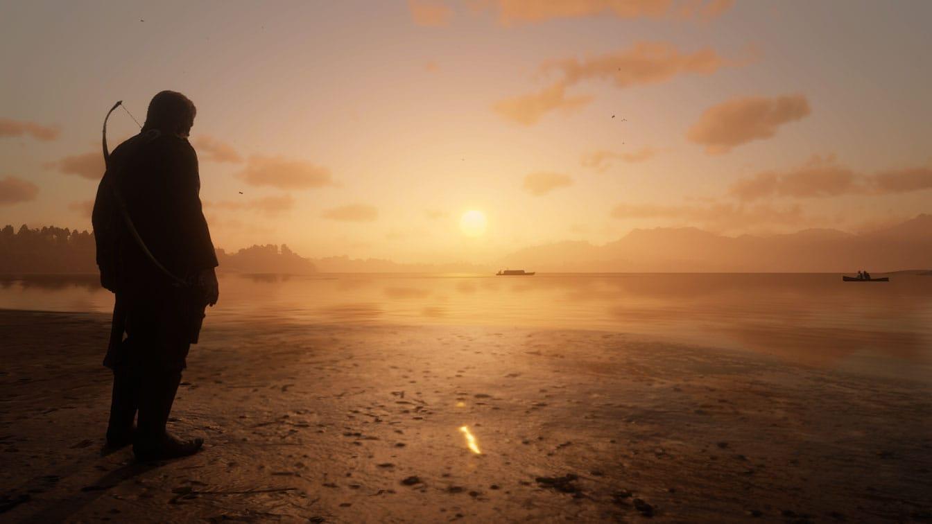 Red Dead Redemption II Sunset