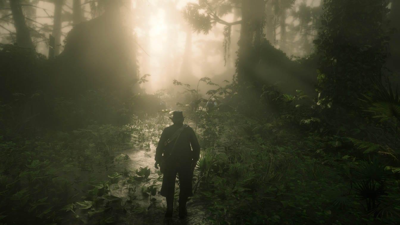 Red Dead Redemption II Swamp