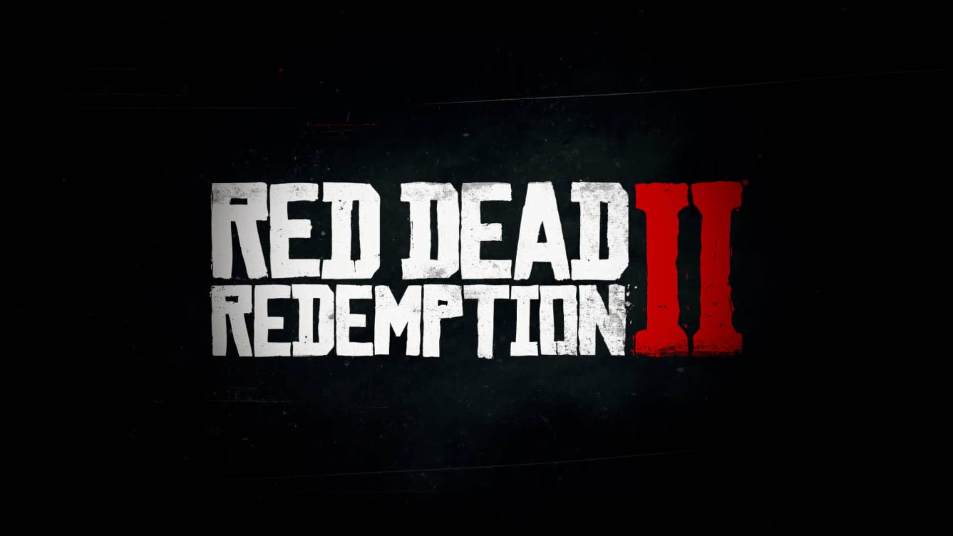 Red Dead Redemption II Title