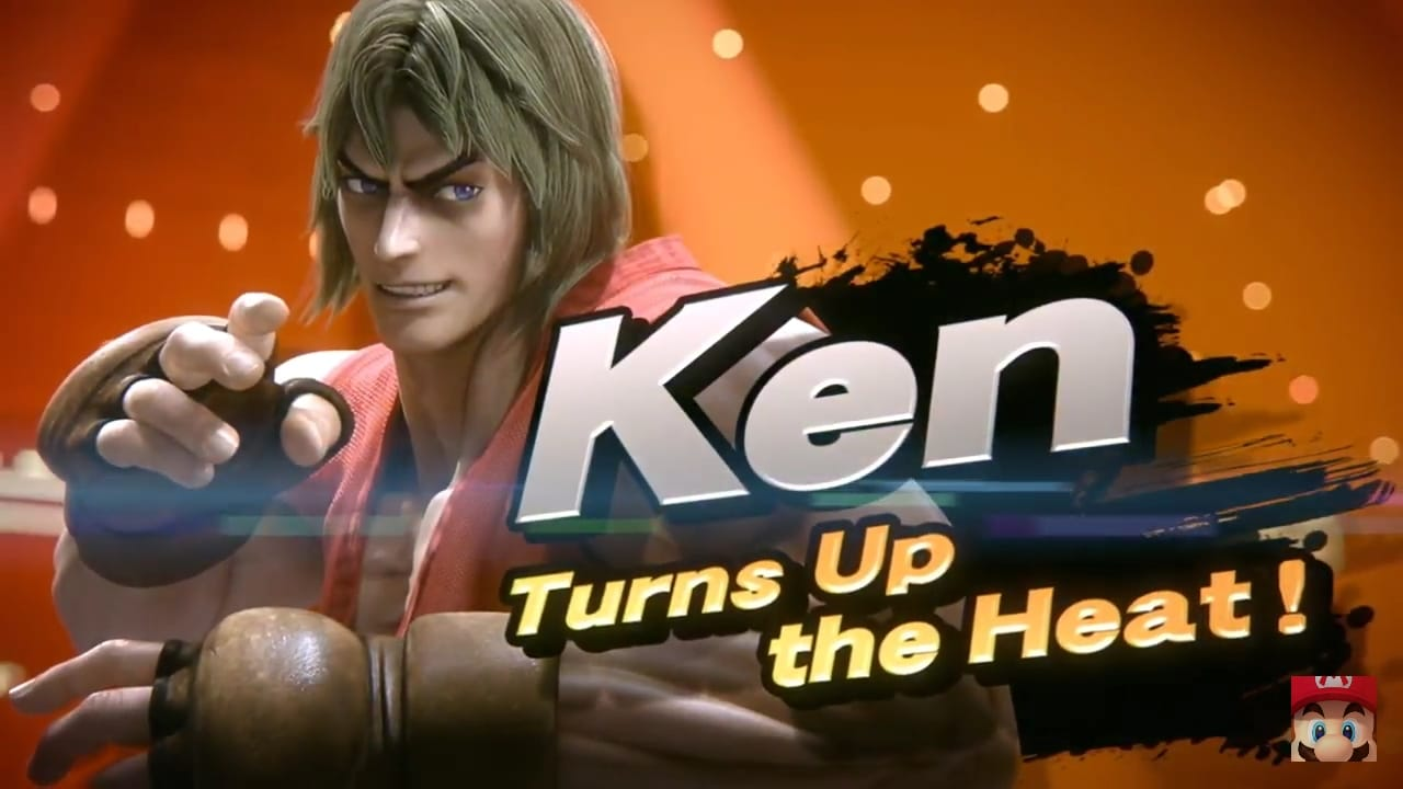Super Smash Bros Ultimate Ken
