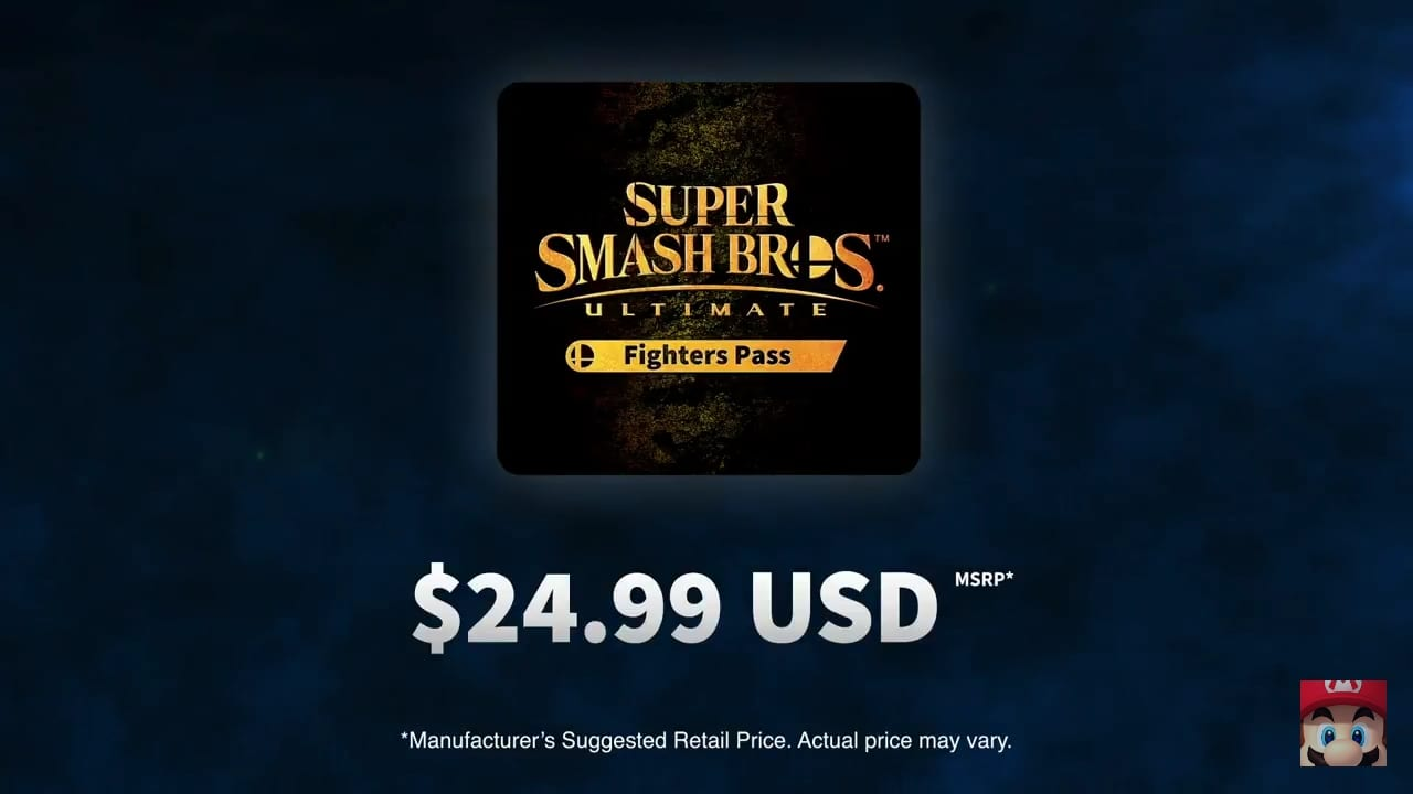 Super Smash Bros Fighter Pass