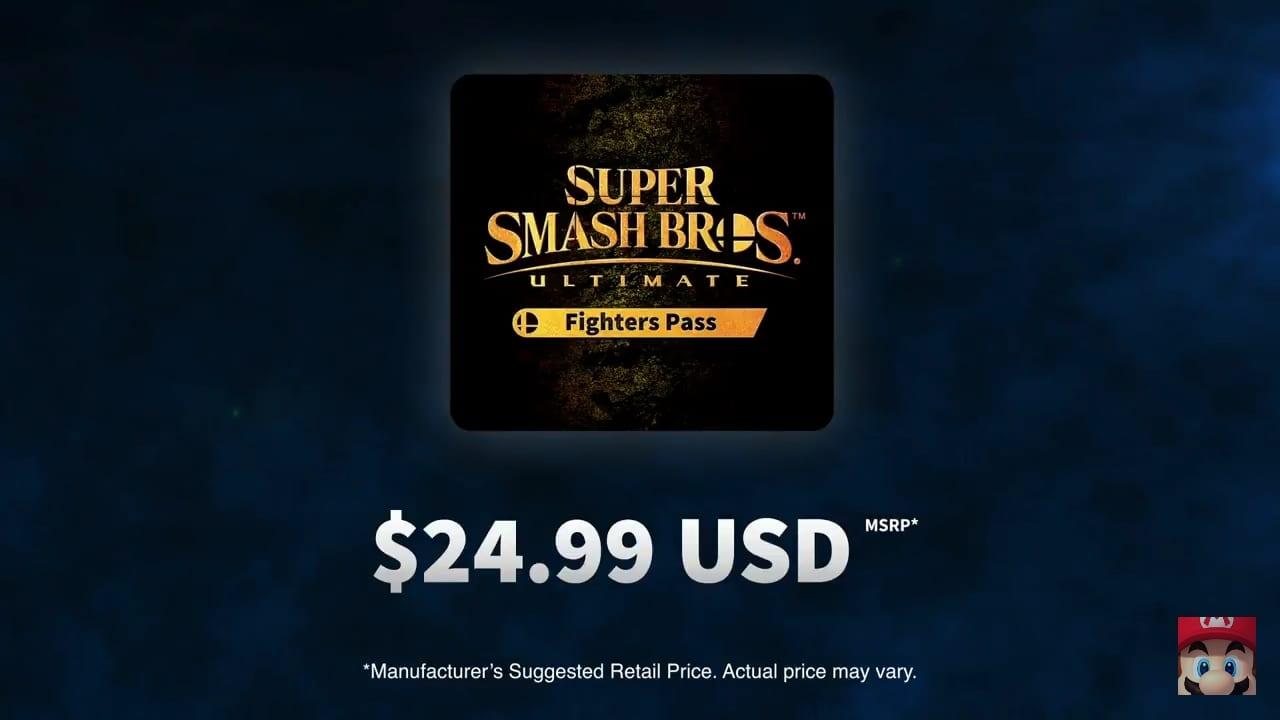 Super Smash Bros Fighter Pass