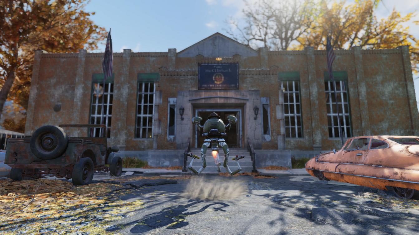 Fallout 76 Camp McClintock