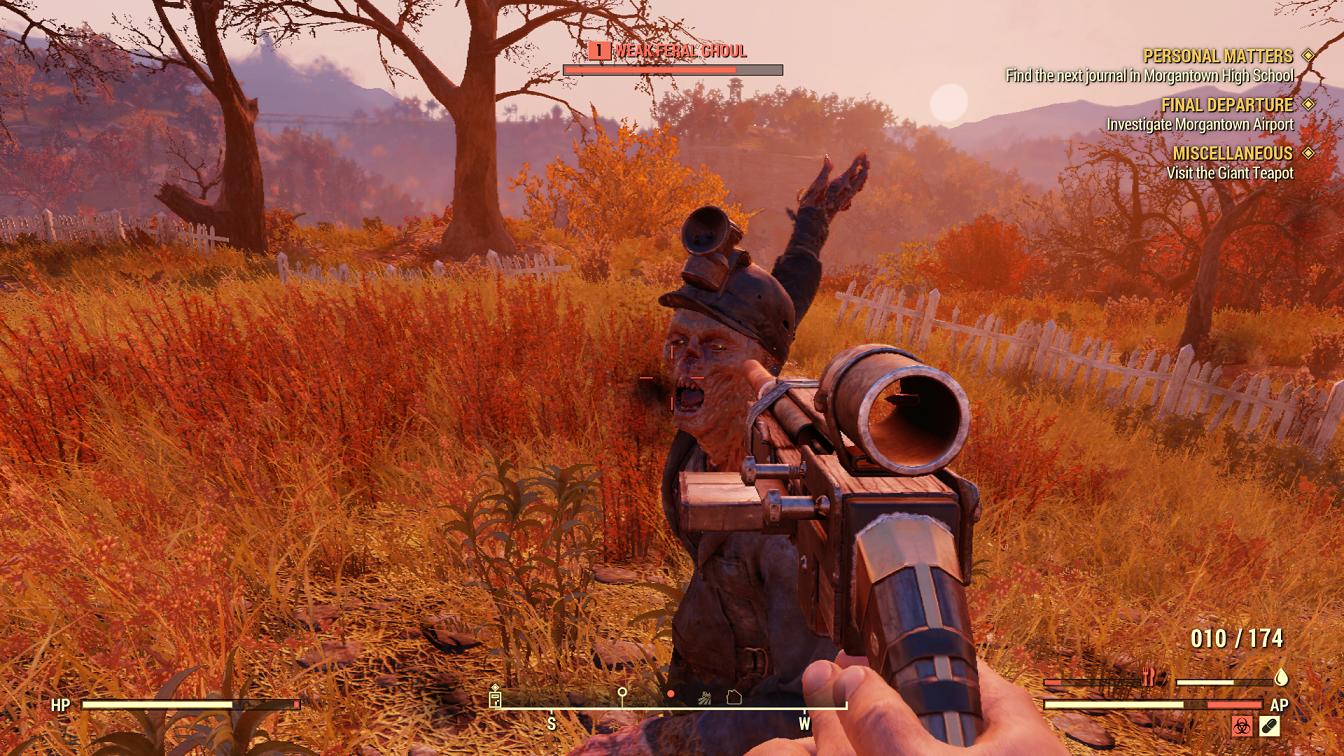 Fallout 76 Gunplay