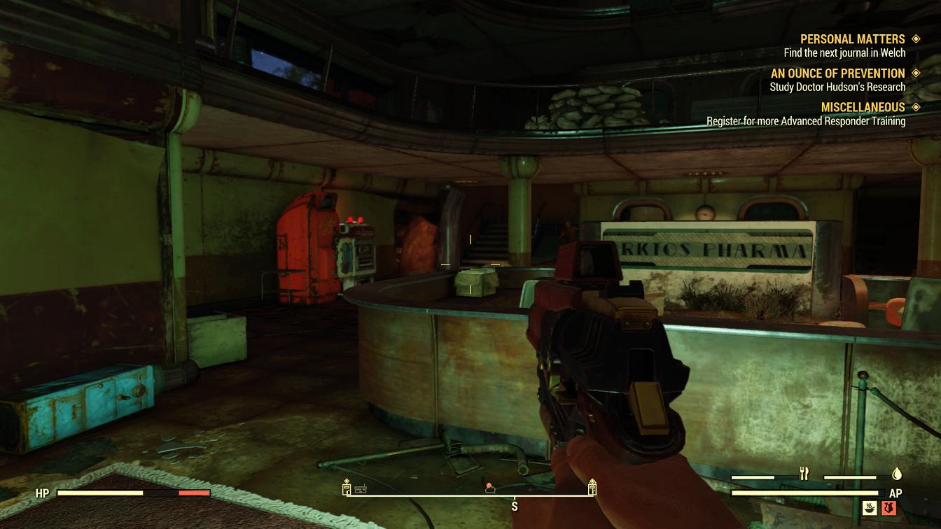 Fallout 76 Hospital