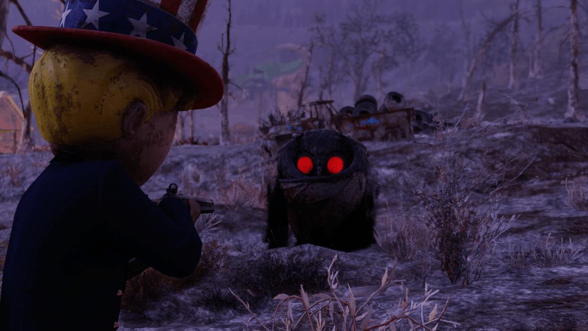 Fallout 76 Mothman Shoot