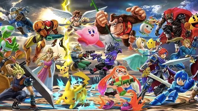 Smash Bros. Ultimate Rosters