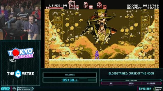 AGDQ 2019 Bloodstained Curse of the Moon