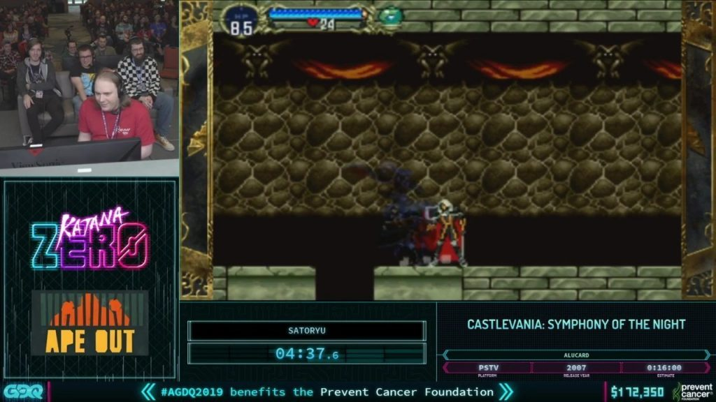 AGDQ 2019 Castlevania Symphony of the Night