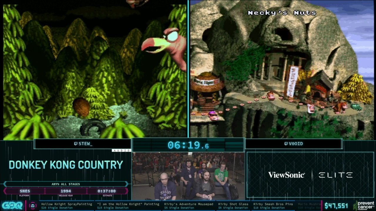 AGDQ 2019 Donkey Kong Country