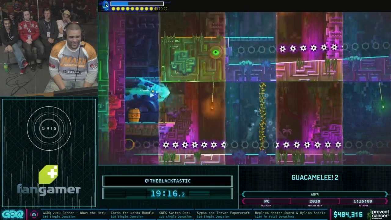 AGDQ 2019 Guacamelee 2