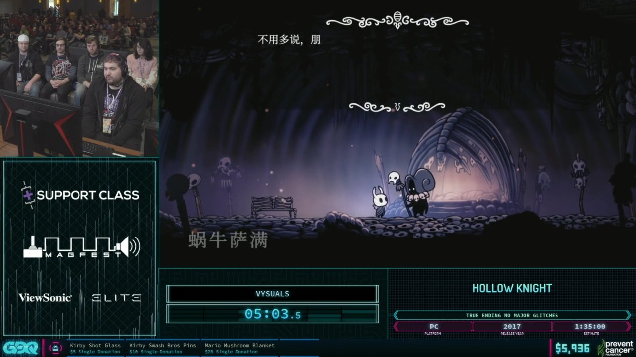 AGDQ 2019 Hollow Knight