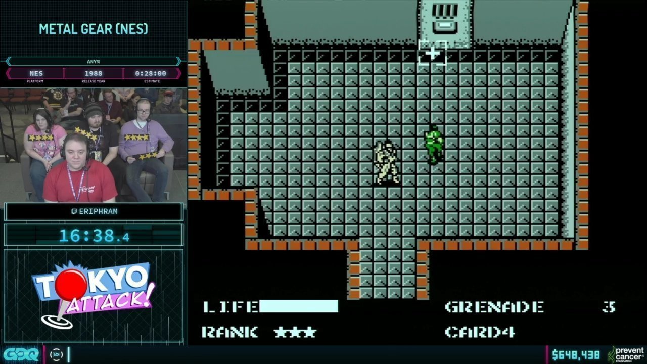 AGDQ 2019 Metal Gear Solid 2