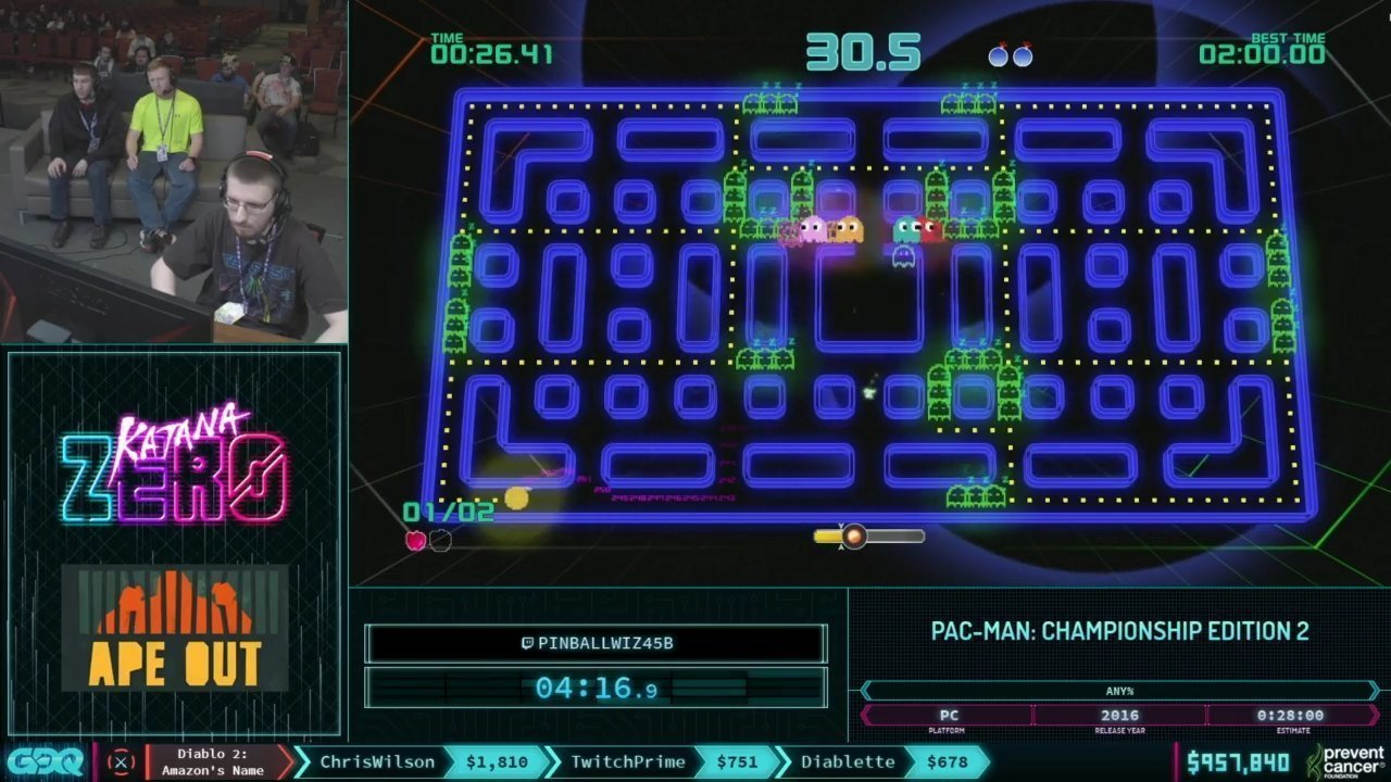 AGDQ 2019 Pac-Man Championship Edition 2