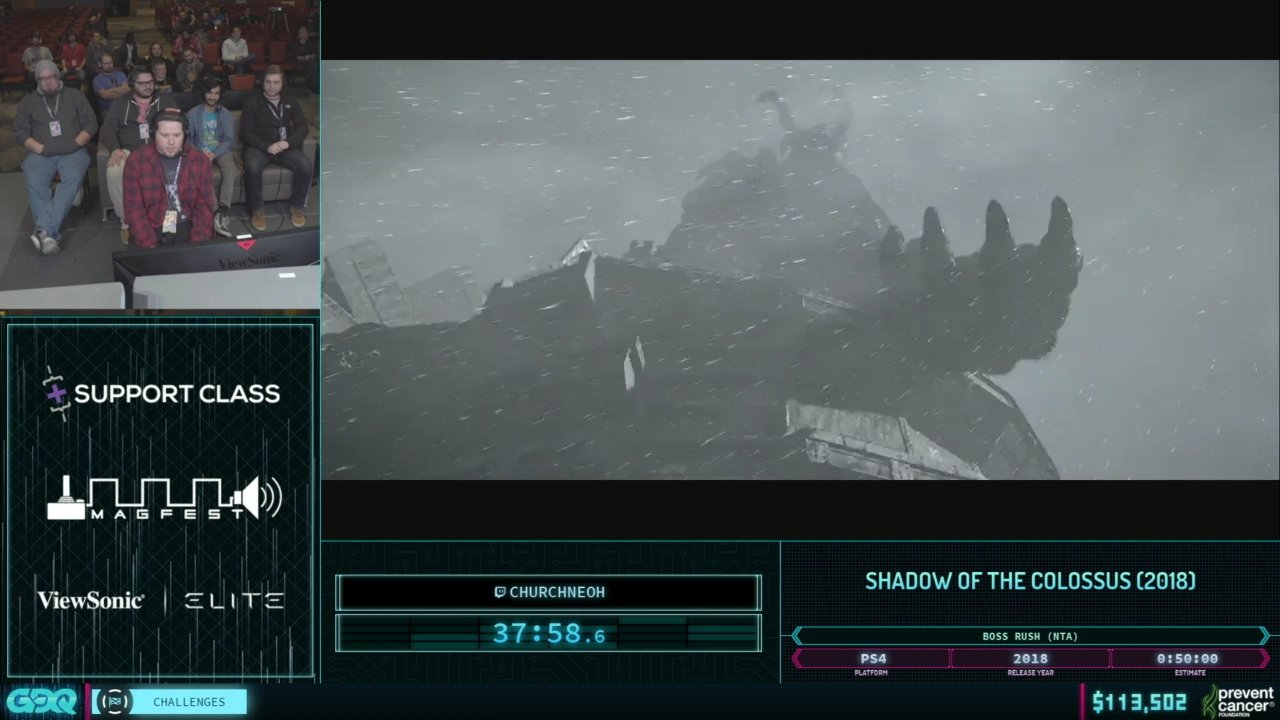 AGDQ 2019 Shadow of the Colossus
