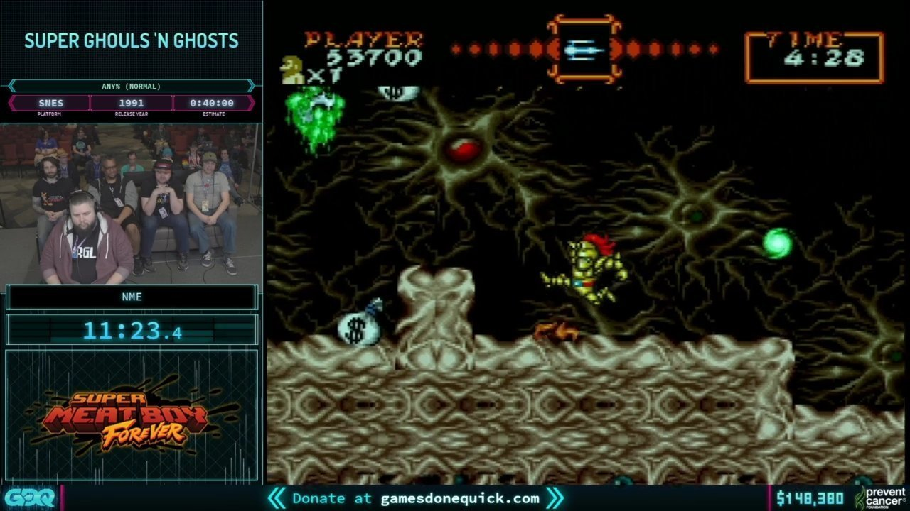 AGDQ 2019 Super Ghouls n Ghosts