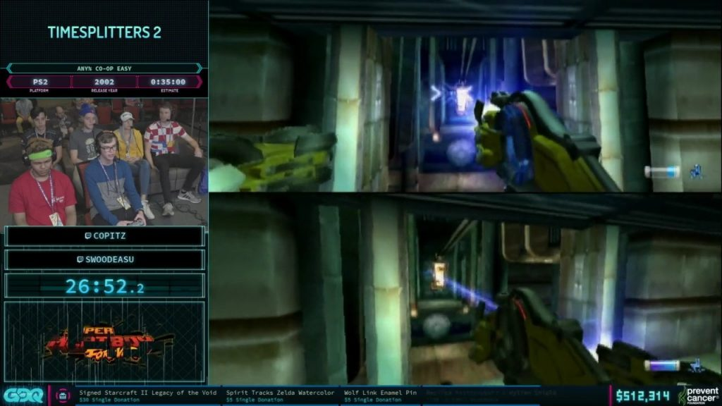 AGDQ 2019 Time Splitters 2