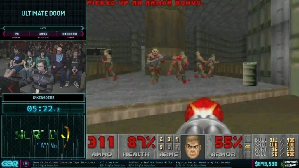 AGDQ 2019 Ultimate DOOM