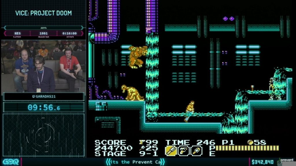 AGDQ 2019 Vice Project Doom